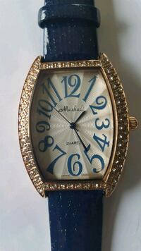 Ladies' Wrist Watch With White Sapphires Dugald, R0E 0K0