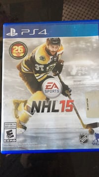 Sony PS3 EA Sports NHL 18 case New Westminster, V3L 2Z7