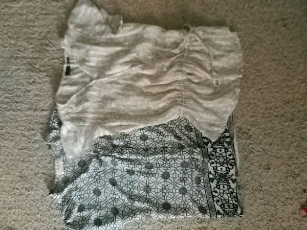 Womens blouses size small, never worn
