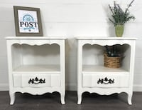 Matching white night stand set  Canby, 97013