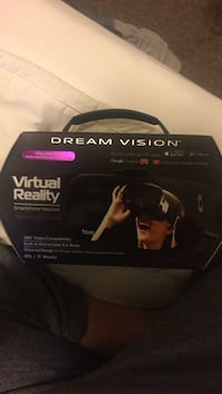 black Dream Vision virtual reality headset  Kitchener, N2P 1A1