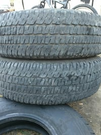 Michelin LT 245/75/17 good condition not dry rotte