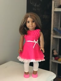 American girl doll and clothes Lincoln, L0R