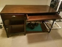 Solid wood and steel desk Virginia Beach, 23453