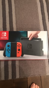 Nintendo Switch slightly used with 6 games