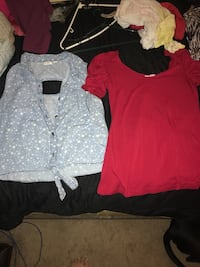 Assorted large shirts  Charlotte, 28214
