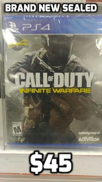 BRAND NEW SEALED CALL OF DUTY INFINITE WARFARE PS4