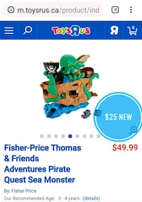 NEW Thomas and Friends Pirate playset Vancouver, V5P 4M4