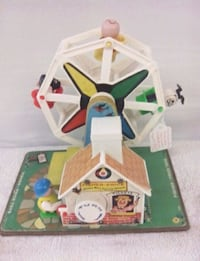 Fisher Price Music Box-Ferris Wheel Deerfield, 53531