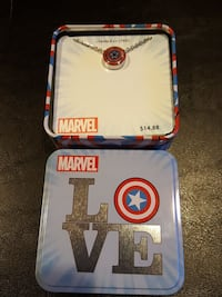 Marvel Captain America dogtag. North Bergen, 07047
