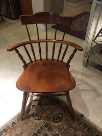 Antique wooden Chair by Nichols & Stone Co. in Excellent Condition Irvine, 92620