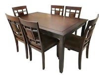 Brand New 7 Piece Wood Dining Set  Silver Spring, 20902