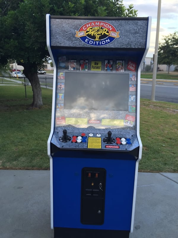 Used Street Fighter 2 Champion Edition Arcade Mame Multicade 6000