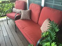 Red outdoor furniture set Rockville, 20850
