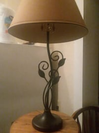 brown and black table lamp Springfield, 65806
