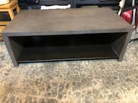 Coffee table - concrete w/ steel shelf Bothell, 98021