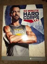 Beachbody 22 minutes Hard Corps DVDs