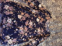 blue and white floral textile Bell Gardens, 90201