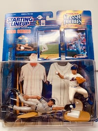 Vintage New York Yankee Great and Hall of Famer Derek Jeter and Former New York Met Rey Ordonez STARTING LINEUP ACTION FIGURES 2 PACK [Brand New] Washington, 20016