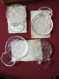 Fostoria American Lead Crystal Coasters Canyon Lake, 78133