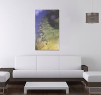 Abstract Purple, Green and Yellow Design, Brand New.  Houston, 77056