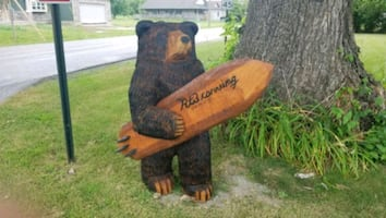 Commission chainsaw art