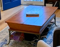 Rustic Wooden Coffee Table Washington, 20002