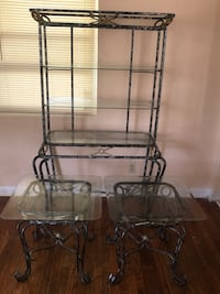 3 Piece Set. As Is. China Stand & Two Coffee Tables  Lake Park, 33403