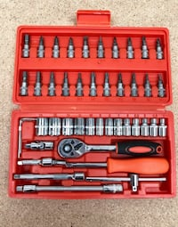 New $20 Tool Set 46pcs Socket Car Repair Ratchet Wrench Spanner Combination Hand Tools