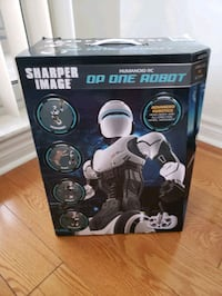 Sharper Image Humanoid RC Op One Robot Mississauga, L5B 4N3