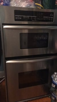 gray and black induction range oven Brentwood, 20722