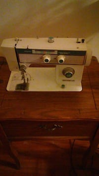 antique sewing machine with table Washington, 20032