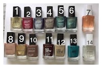 assorted fourteen nail polish bottles Hayes, UB4 9BY