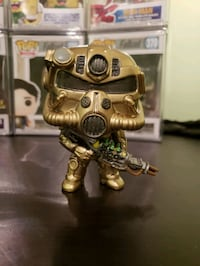 Fallout Pop! Custom Gold T-51 Power Armor 562 km