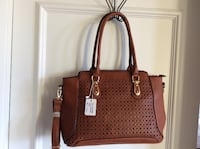 NEW: TAN MULTI POCKETED TOTE SATCHEL SOULDER STRAP Vancouver