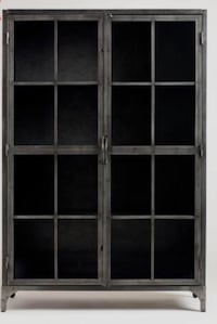 World Market Metal and Glass Display Cabinet 41 km