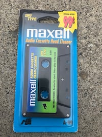 Maxell Tape Head cleaner NOS Calgary, T2W