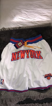 Basketball logo shorts