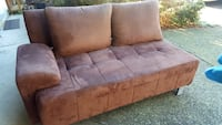 Brown fabric 3-seat sofa Coquitlam, V3K