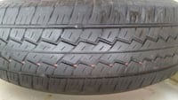 gray vehicle wheel and tire Mississauga
