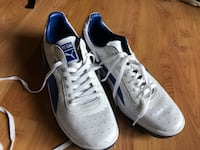 Never worn Pair of white and blue puma sneakers Milwaukie, 97222