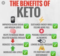 The Benefits of Keto poster screenshot