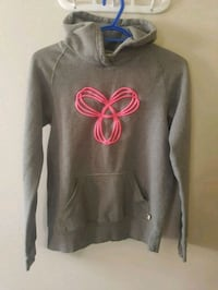 gray and pink pullover hoodie 3137 km