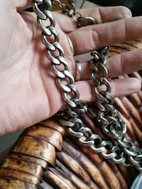 Mens Stainless Steel Chain Necklace Billings