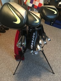 Nike Pro Combo irons 4-PW, AW and woods $2400 Edmonton, T6C 1B1