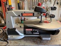 """Craftsman 16"""" Variable Speed Scroll Saw"""