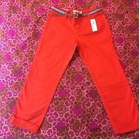 NEW Old Navy skinny pants with belt, size 5T & 7t Reston, 20191