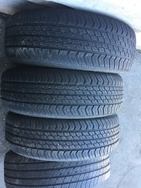 3tires all season MOTOMASTER one tire Michelin size 195 /65/15 good condition Like new  Brampton, L6R 3M6