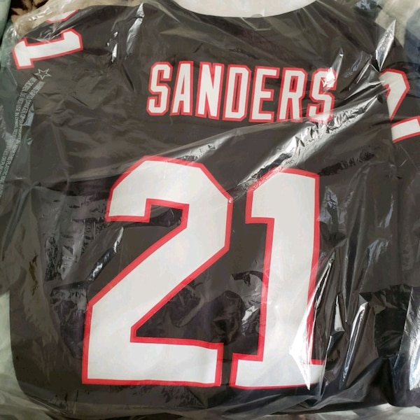 uk availability 5ab0a 23bfd Mitchell & Ness Deion Sanders #21