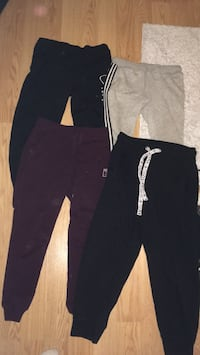 Girls women sweatpants (1photo size small (photo2 size large (photo3 size large. All pants 15 dollars I pair each 5 dollars Edmonton, T5H 1R5